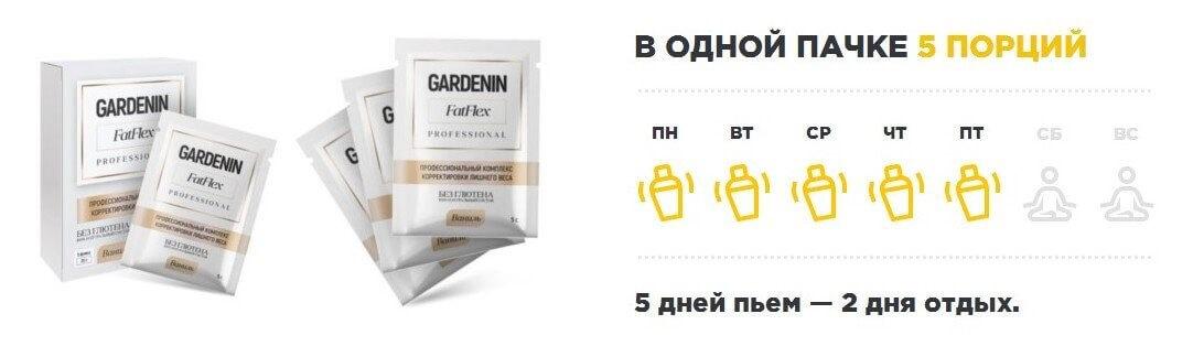 Инструкция Гарденин Фатфлекс