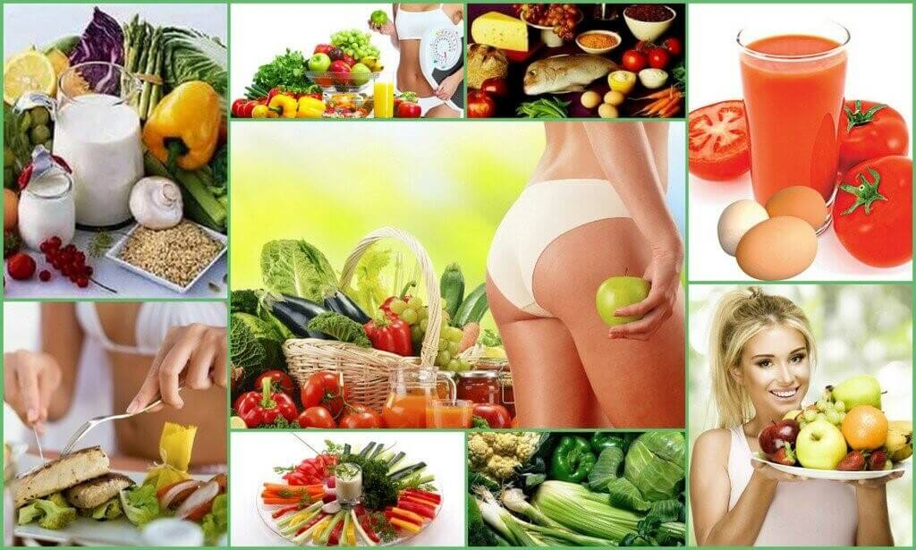 Антицелюлитная диета