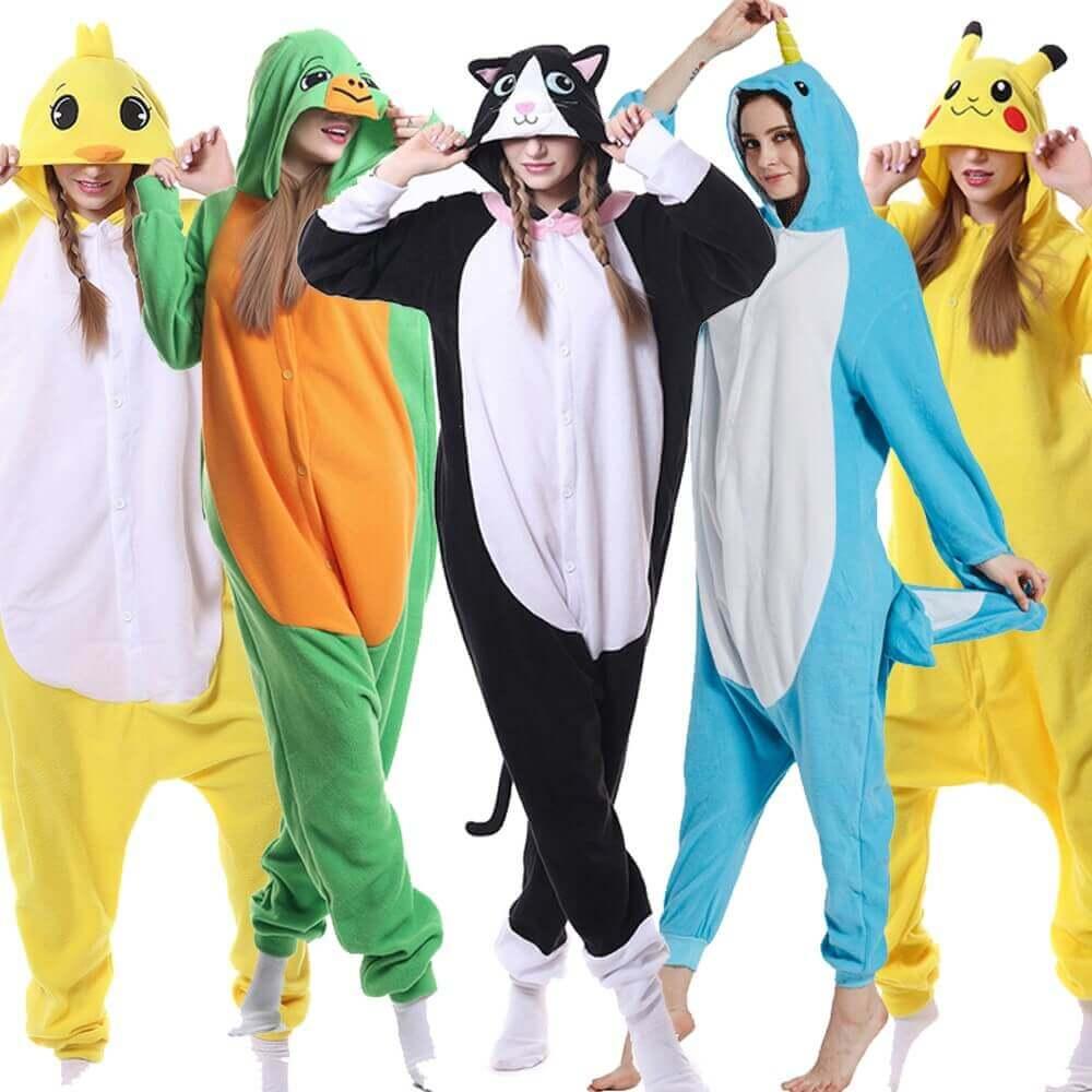 картинка фото кигуруми пижама